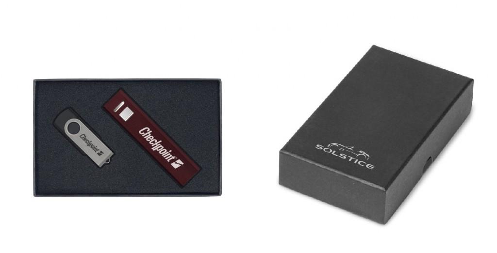 Powerbank en Usb Stick eindejaarsgeschenk