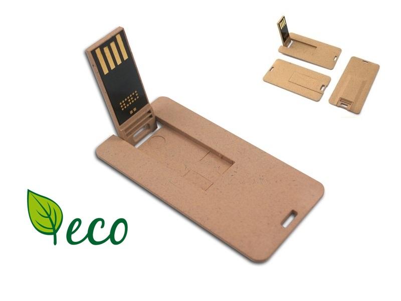 duurzame creditcard USB stick